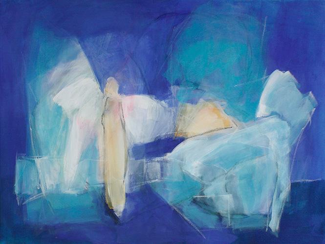 Englisch, 110 x 90 cm, 2008, Fr. 900.-