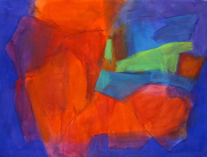 moralisches Farberleben, 100 x 120 cm, Fr. 900.-